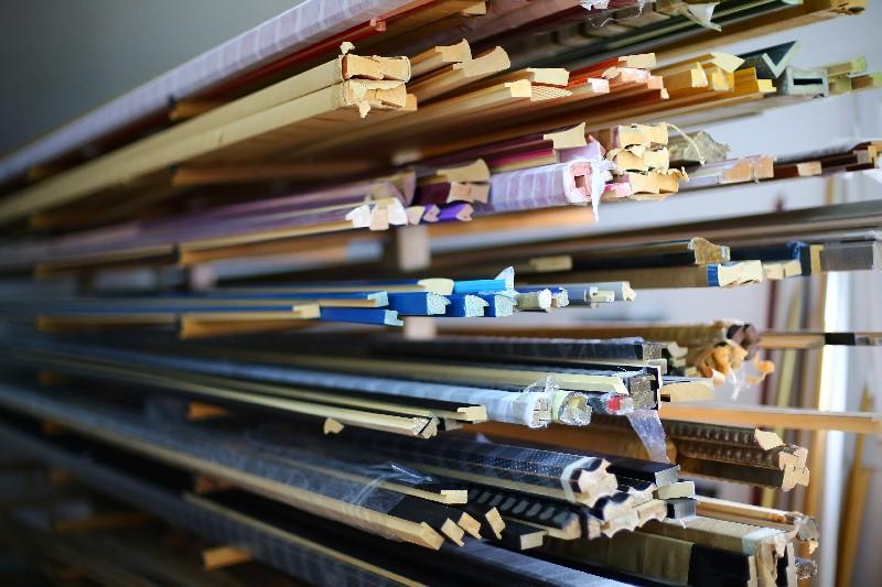 Les baguettes et moulures de votre cadre sur mesure - Moulure bois pour cadre ...
